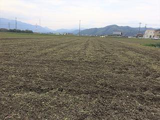 農家のお米.comの耕起完了